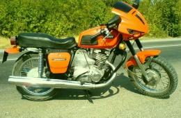 Мотоцикл советского производства