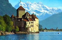 Женевское озеро - не самое крупное, но самое красивое