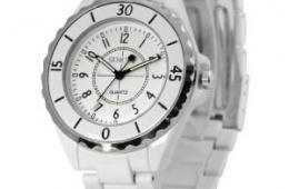 Недорогие стильные часы Tinydeal SINOBI Stainless Steel Wrist Quartz