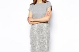 Узкая кружевная юбка Espirit