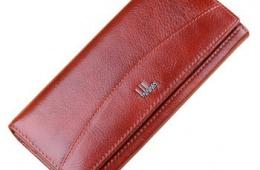 Женский кошелек Aliexpress из натуральной кожи