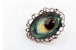 Прекрасный винтаж с Aliexpress - кольцо и кулон Retro Peacock