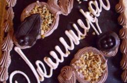 Недорогой песочный торт «Ленинградский» от фабрики «Господарь»