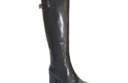 Отличные зимние сапоги Ellenka с устойчивым каблуком
