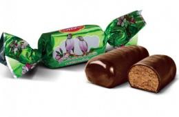 """Шоколадные конфеты АВК """"Весенняя гостья"""""""