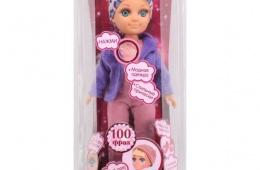 Модница кукла умеет говорить