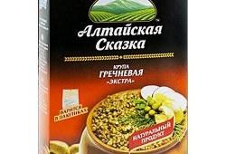 Вкусная, быстро готовящаяся гречка «Алтайская сказка»
