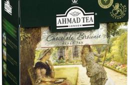 "Чай в пакетиках AHMAD ""Chocolate Brownie"""