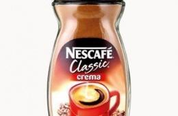 Типичный растворимый кофе Nescafe