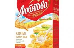 Неплохие вкусные сухие завтраки от «Любятово»
