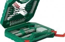 Отличный подарок мужчине - чемоданчик Bosch «65 предметов»