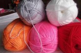 Пряжа для ковриков и носков