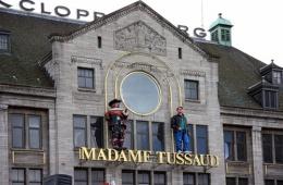 Очень натуралистичные восковые фигуры в лондонском музее мадам Тюссо