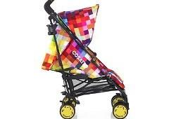 Яркая и легкая коляска для прогулок