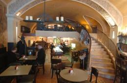 Симпатичное европейское кафе в центре Москвы