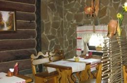 Отличный стилизованный ресторан «Русская изба»