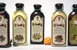 Замечательные шампуни от Бабушки Агафьи
