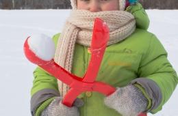Снежколеп - новинка китайпрома для активного отдыха