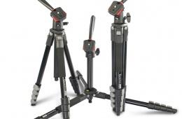 Качественный алюминиевый штатив Giottos DT825 для компактных видеокамер и легких зеркалок