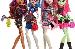 Куклы Monster High - на лицо ужасные, добрые внутри