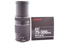 Объектив Canon EF 75-300  - универсальный широкоугольник