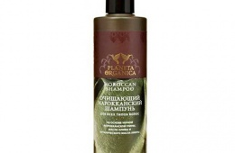 Амбровый аромат органического шампуня