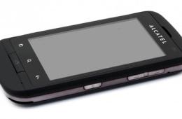 мобильный телефон Alcatel One Touch 922