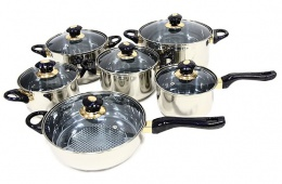 Набор кухонных кастрюль