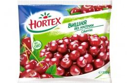 Замороженная вишня Хортекс: от свежей не отличить