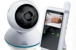 Видеоняня Philips помогает следить за ребенком