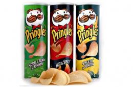 Вкусные, но дорогие чипсы