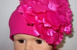 Красивые шапочки для маленьких принцесс