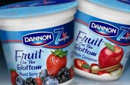 Вкусные молочные продукты с разными вкусами