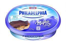 Сыр «Philadelphia Milka» - прекрасное дополнение к сытному завтраку