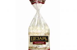 «Классические» пельмени от ТМ «Цезарь» - прекрасный полуфабрикат с отличным вкусом