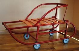 Детские санки с колесами
