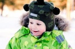 Самый удобный, теплый и надежный головной убор для ребенка