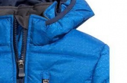 Удобная куртка для сына