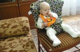Мобильный нано стул для ребенка
