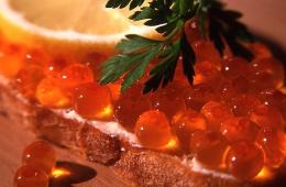 Что может быть лучше лососевой икры?