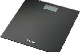 Tefal PP 1004 V0 – плоские напольные весы