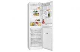 Атлант 6025-031 – модель двухкаменого холодильника класса «А» с морозильником