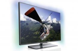 Philips PFL 8007 – модель жк-телевизора с диагональю в 46 дюймов и поддержкой Full HD