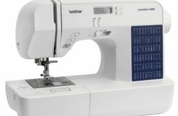Brother Comfort 60E – недорогая, но очень добротная швейная машина для начинающих мастериц