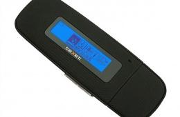 TEXET T-240 – модель простого МР3-плейера со встроенной памятью на 8 «гигов»