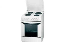 Indesit K6G20(W) – довольно неплохая кухонная плита с духовкой на газу