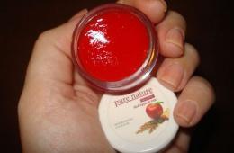 Бальзам для губ Oriflame «Красное яблоко и овес»