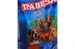 Сухой корм «Трапеза» не каждой собаке понравится