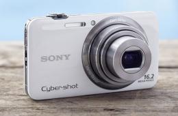 Компактная цифровая фотокамера Sony Cyber-shot DSC-WX7 с видеозаписью
