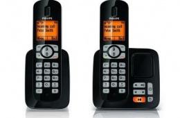 Надежный долговечный радиотелефон Philips CD4851